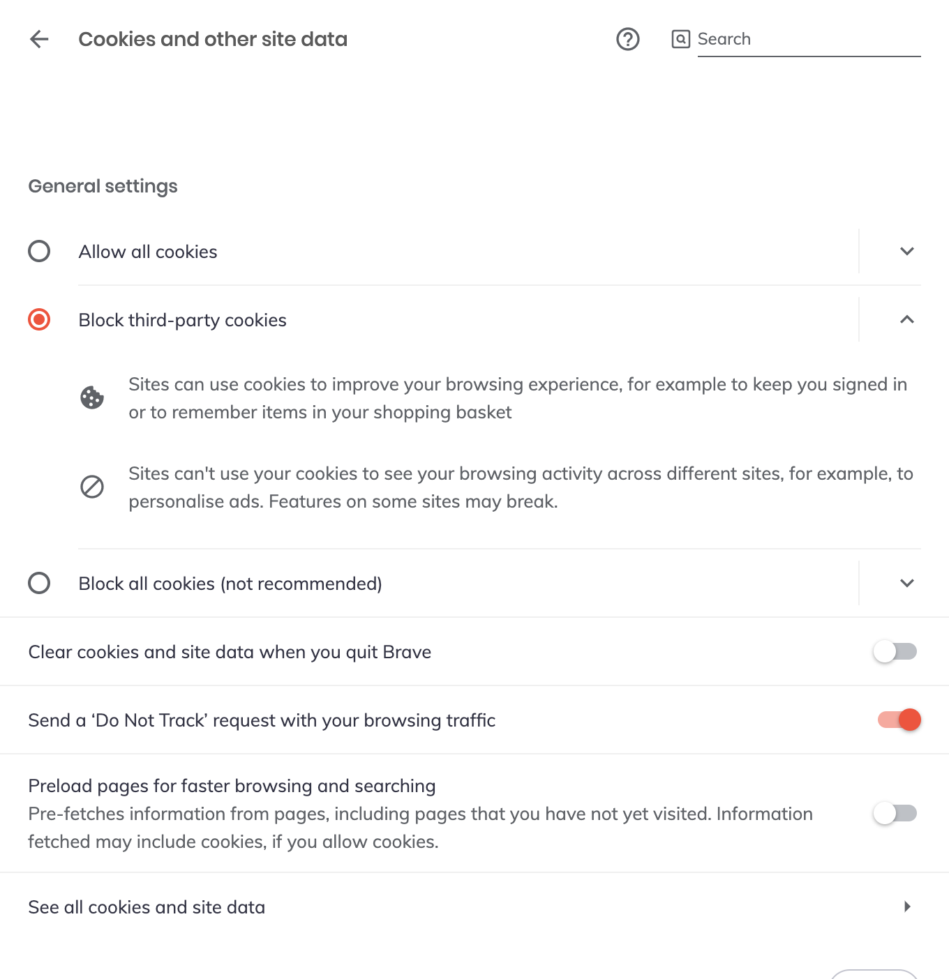 How Do I Manage Cookies In Brave – Brave Help Center